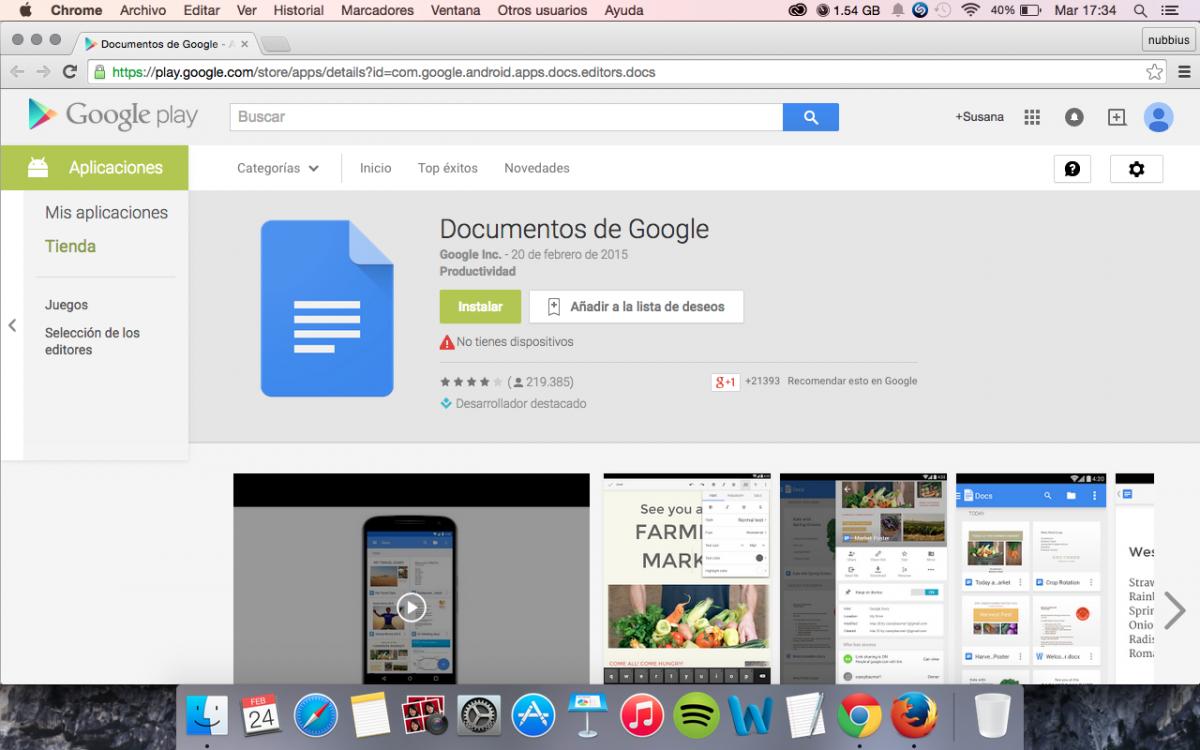 App de documentos