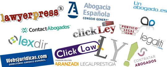 Directorios y marketplaces para abogados