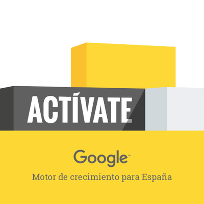 Activate de Google motor de crecimiento para España