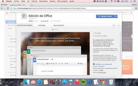Plugin de Office Google Drive