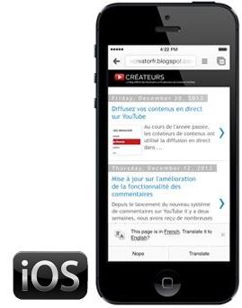 Traductor para iOS