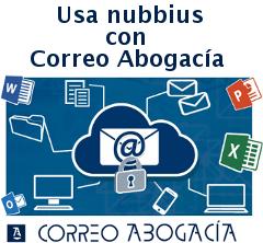 Usa Nubbius con Correo Abogacia